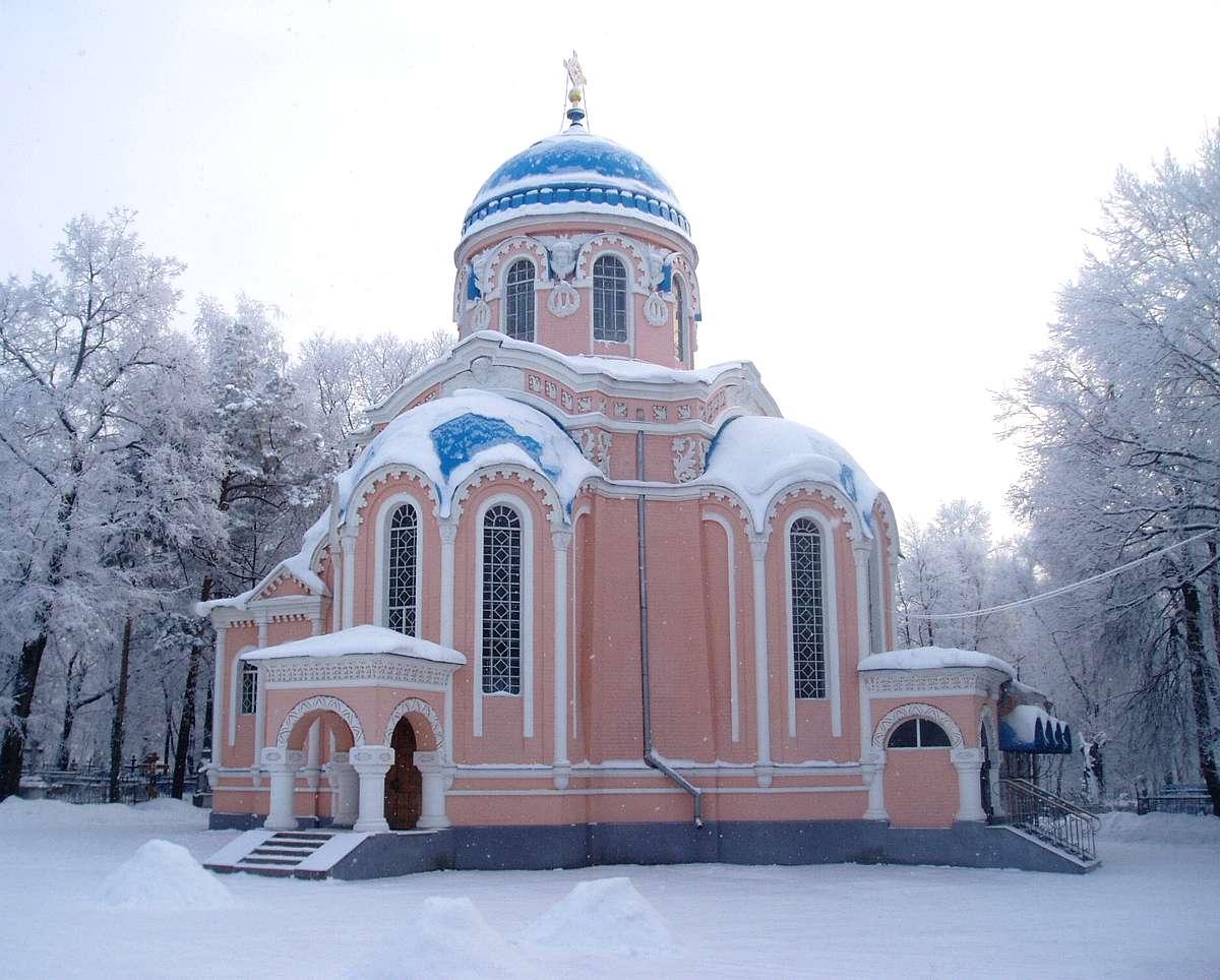 Воскресенская церковь г ульяновск